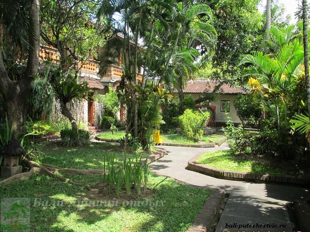 На Бали много зеленых отелей