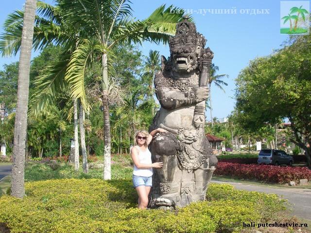 В Нуса-Дуа Бали