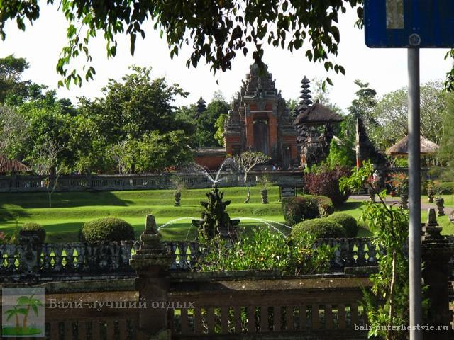 Таман Аюн один из главных храмов на Бали