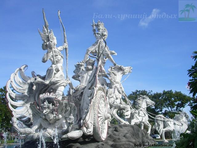 Монумент в Куте Бали