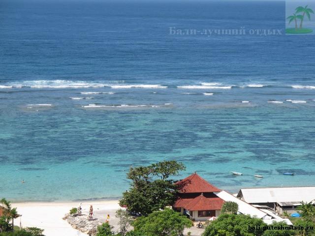 Остров Бали побережье