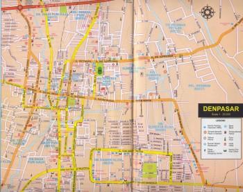 Денпасар столица острова Бали