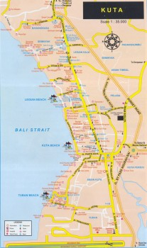 Кута самый молодежный курорт Бали