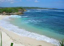 Океанский пляж на Бали