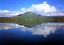Вулкан Батур и озеро Батур Бали