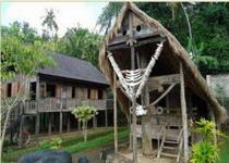остров Сулавеси в парке Таман нуса на Бали