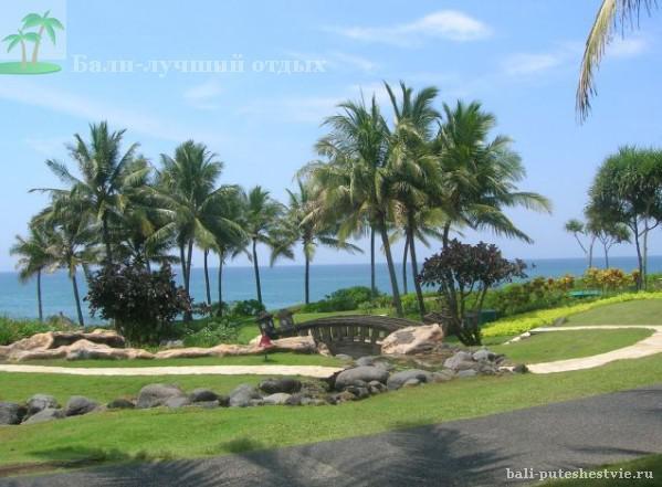 Прекрасные виды острова Бали