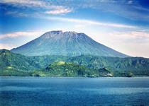 Агунг высочайшая точка на Бали