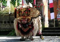 Национальный танец Барог на Бали