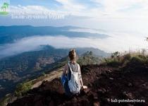 На вершине вулкана Батур