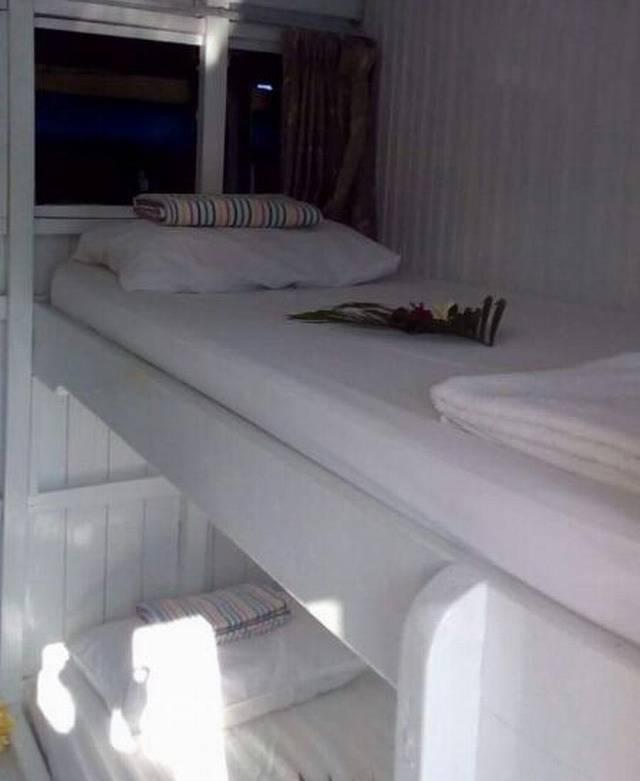 каюта простого судна Тур на Комодо