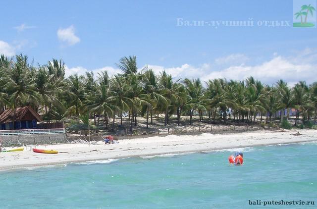 Пляж на Бали