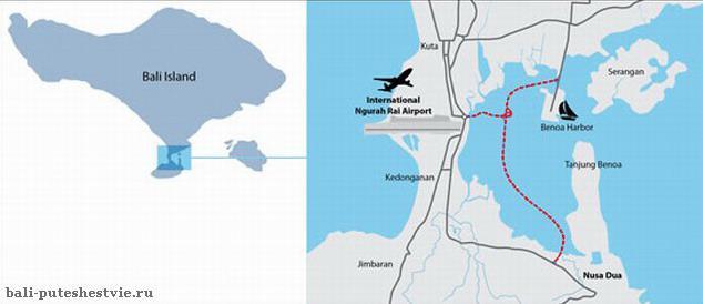 Схема расположения новой дороги