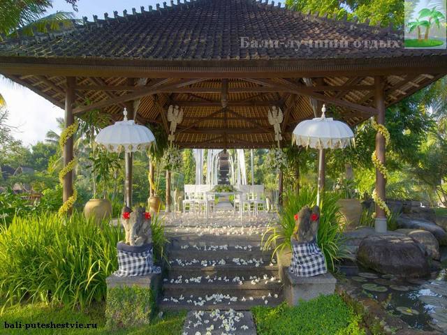 Бали вход в частный храм