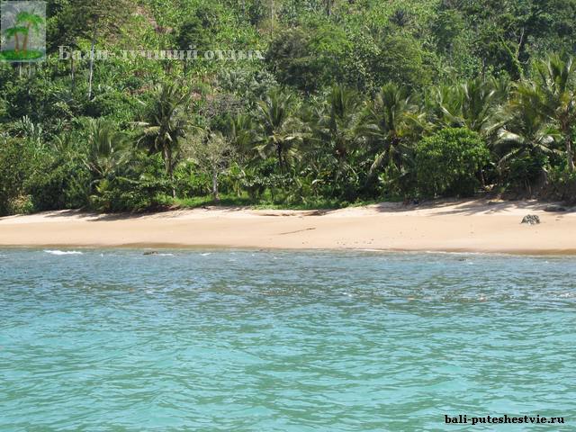 Побережье Бали