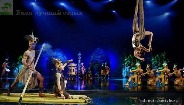 Девдан шоу на Бали