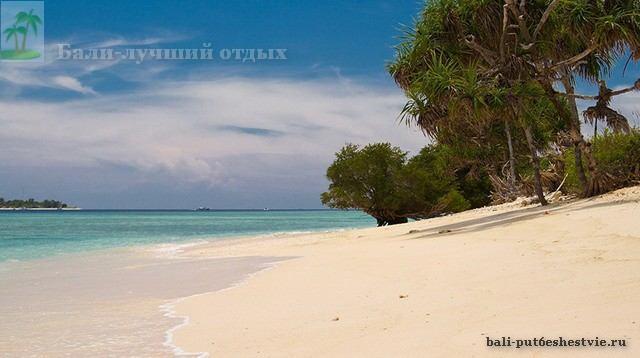 Пляж на Гили