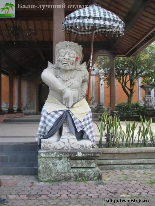 религиозное божество на Бали