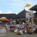 Церемония в храме на Бали