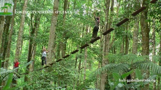 Парк приключений на Бали