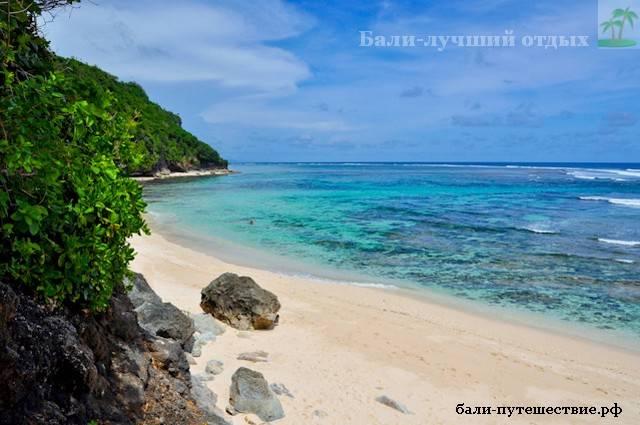 Острова Бали пляж