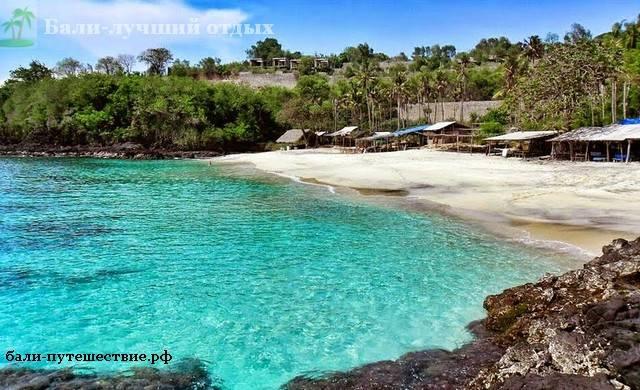 Один их пляжей на Бали