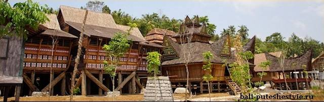 Парк Taman Nusa на Бали