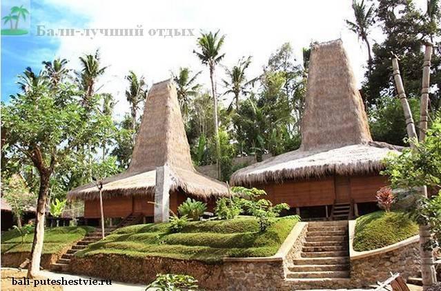 В парке Таман нуса на Бали