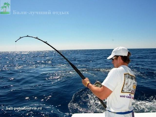 рыбалка троллинг на Бали
