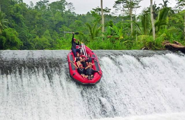 Сплав по реке на Бали