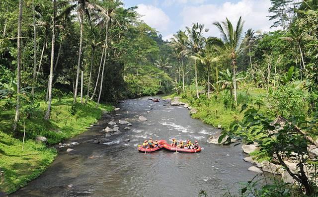 Рафтинг на Бали