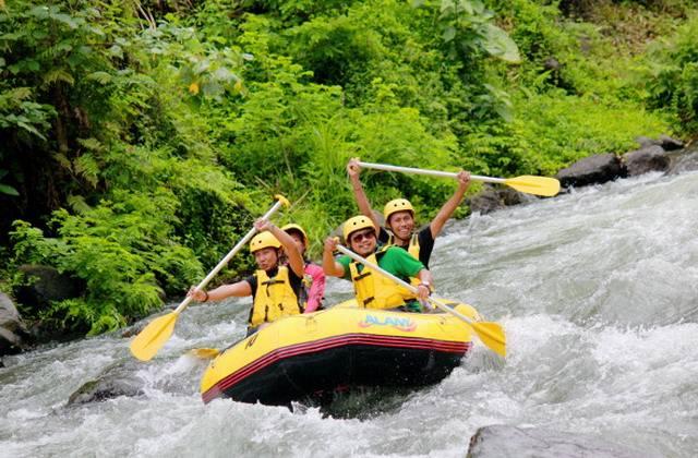 Рафтинг на реках на Бали