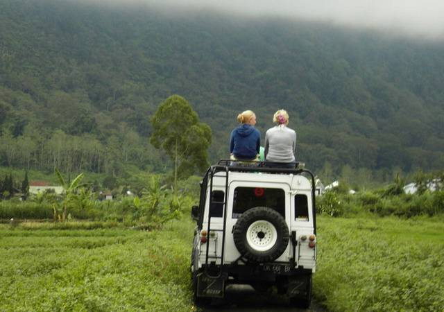 Сафари на джипах на Бали