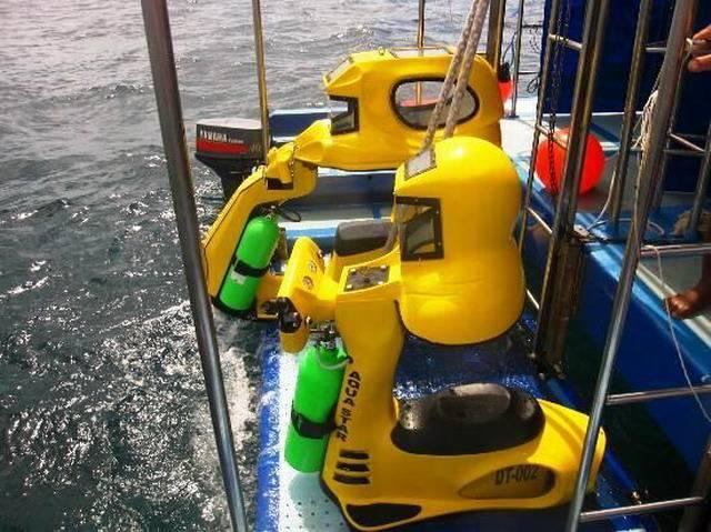 подводный мотоцикл