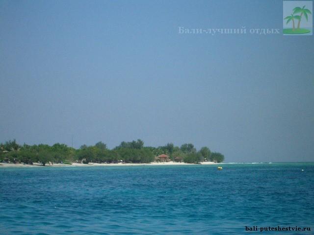 Море Бали очень прозрачное и теплое
