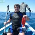 Трофей с подводной охоты