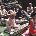 Гамелан оркестр исполняющий национальную музыку на Бали